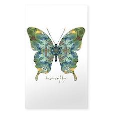 Abundance Butterfly Sticker (Rectangle)