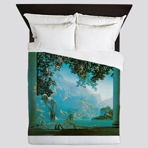 Maxfield Parrish Daybreak Queen Duvet