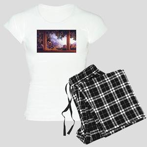Maxfield Parrish Daybreak Women's Light Pajamas