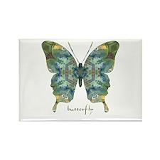 Abundance Butterfly Rectangle Magnet