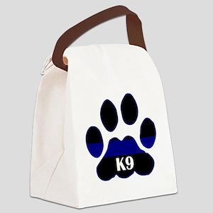 k9blue Canvas Lunch Bag