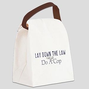 laydown Canvas Lunch Bag
