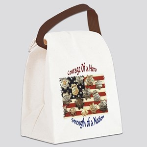 courage Canvas Lunch Bag