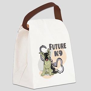 futurek9bg Canvas Lunch Bag