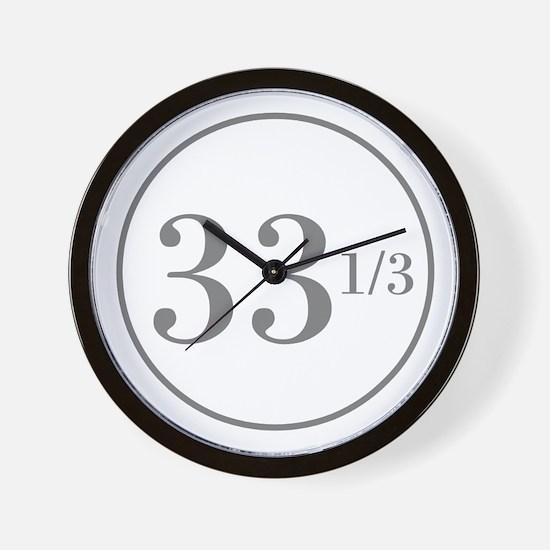 Long Playing Wall Clock