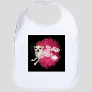 Moo Pink Bib