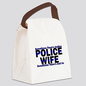wifejustice Canvas Lunch Bag