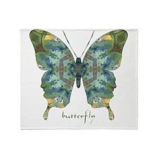Abundance Butterfly Throw Blanket