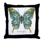 Abundance Butterfly Throw Pillow