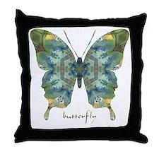 Abundance Butterfly Throw Pillow