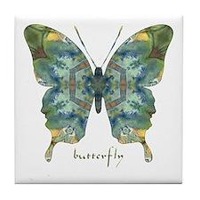 Abundance Butterfly Tile Coaster