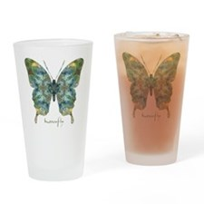Abundance Butterfly Drinking Glass