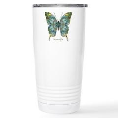 Abundance Butterfly Stainless Steel Travel Mug