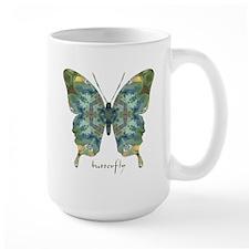 Abundance Butterfly Large Mug