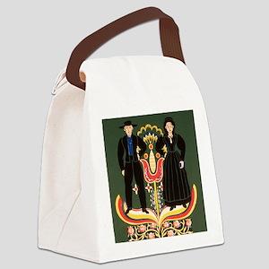 Pennsylvania Dutch Canvas Lunch Bag