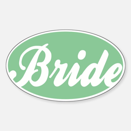 BRIDE Sticker (Oval)