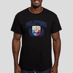 Philippines Men's Fitted T-Shirt (dark)