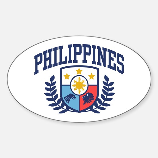 Philippines Sticker (Oval)