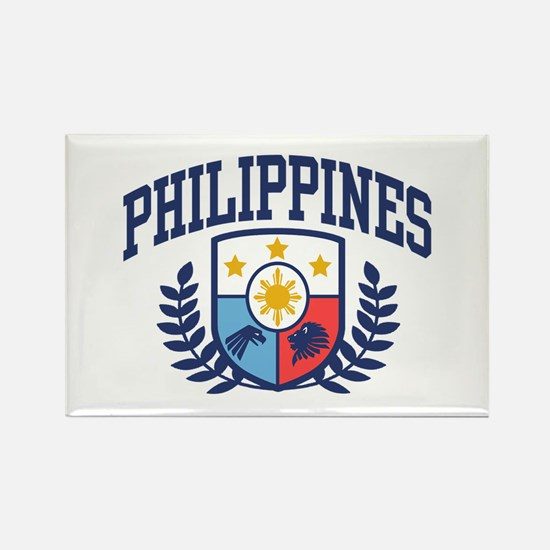 Philippines Rectangle Magnet