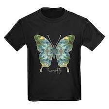Abundance Butterfly Kids Dark T-Shirt