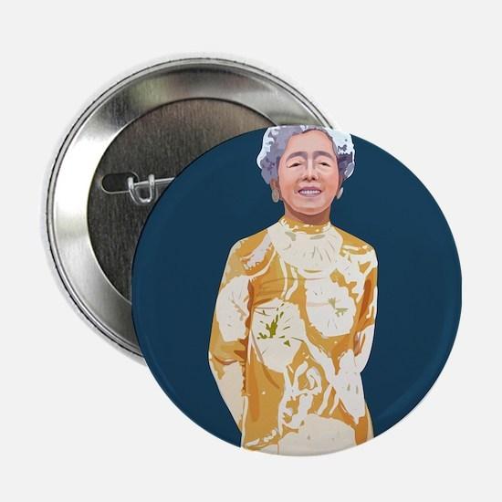 """Hawayo Takata, 2.25"""" Button"""