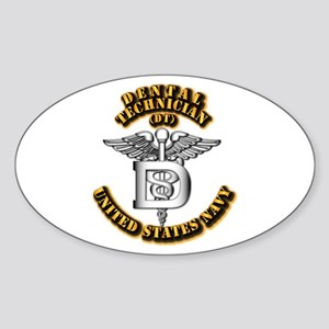 Navy - Rate - DT Sticker (Oval)