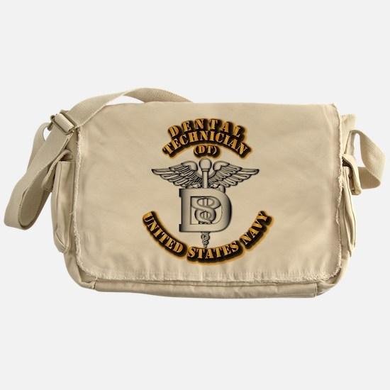 Navy - Rate - DT Messenger Bag