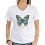 Abundance Butterfly Women's V-Neck T-Shirt