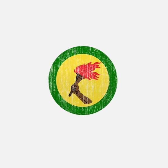 Zaire Roundel Mini Button