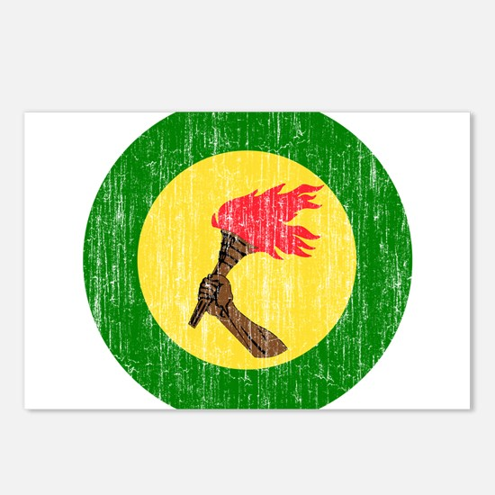 Zaire Roundel Postcards (Package of 8)