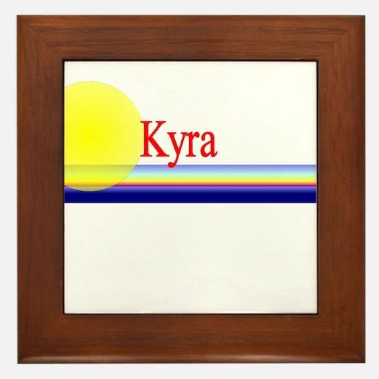 Kyra Framed Tile