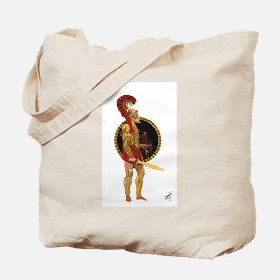 GREEK WARRIOR Tote Bag
