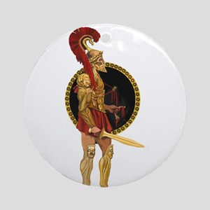 GREEK WARRIOR Ornament (Round)