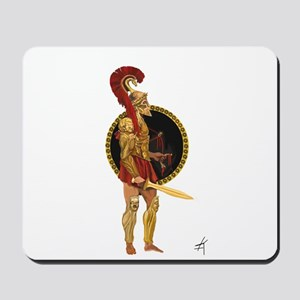 GREEK WARRIOR Mousepad
