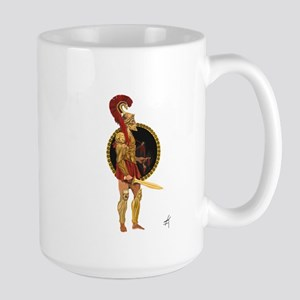 GREEK WARRIOR Large Mug