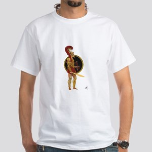 GREEK WARRIOR White T-Shirt