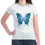 Zephyr Butterfly Jr. Ringer T-Shirt