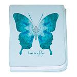 Zephyr Butterfly baby blanket