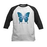 Zephyr Butterfly Kids Baseball Jersey
