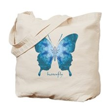 Zephyr Butterfly Tote Bag