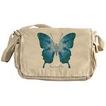 Zephyr Butterfly Messenger Bag