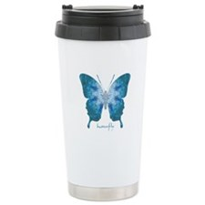 Zephyr Butterfly Stainless Steel Travel Mug