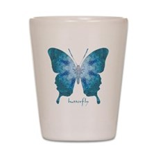Zephyr Butterfly Shot Glass