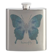 Zephyr Butterfly Flask