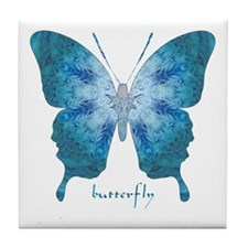 Zephyr Butterfly Tile Coaster