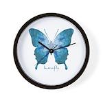 Zephyr Butterfly Wall Clock