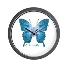 Zephyr Butterfly Wall Clock