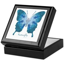 Zephyr Butterfly Keepsake Box