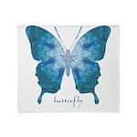 Zephyr Butterfly Throw Blanket