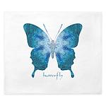Zephyr Butterfly King Duvet